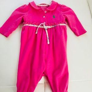 Polo Ralph Lauren baby girl bodysuit